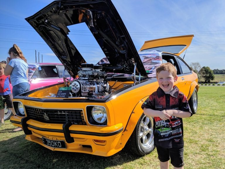 Jack with his toranafest choice